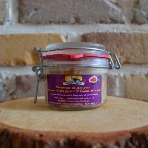 Foie gras de canard figue - Traiteur Bernard Bringel
