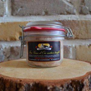Foie gras d'oie truffé - Traiteur Bernard Bringel