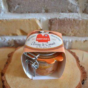 Terrine de canard au foie gras - Traiteur Bernard Bringel