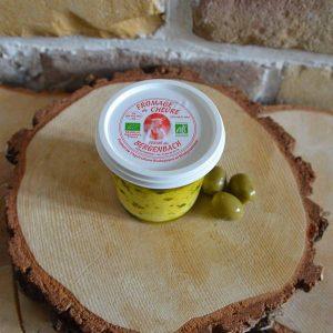 Fromage de chèvre huile d'olive - Ferme du Bergenbach