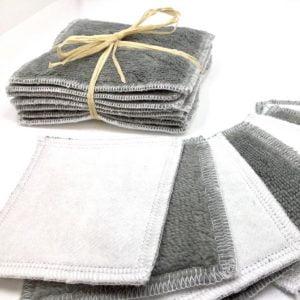 Lingettes démaquillantes grises - La Fabrique ZD