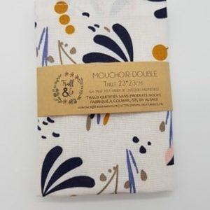 Mouchoir doublé spring - Truff&Co