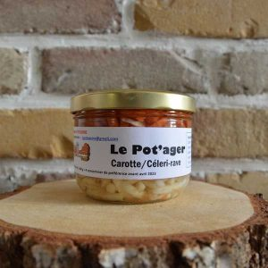Carotte/céleri rave - La Potassine