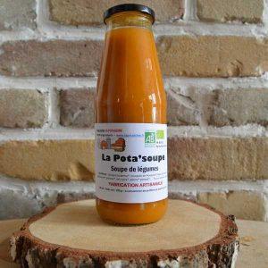 Soupe légume courge - La Potassine