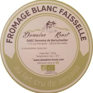 fromage blanc - Domaine Krust
