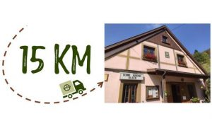 Km + photo - Ferme Auberge du Hilsen