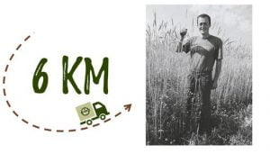 Km + photo - Ferme Moyses