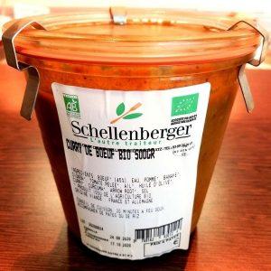 Curry de boeuf à l'indienne - Traiteur Schellenberger