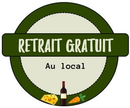 Retrait gratuit au local