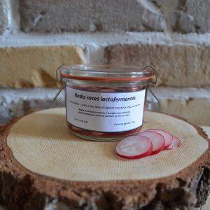 Radis rose lactofermenté - Atelier du fait maison