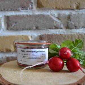 Radis rose lactofermentés - Atelier du fait maison
