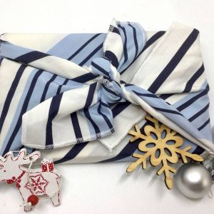 Furoshiki bleu - La Fabrique Zd