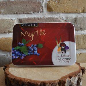 Glace myrtille - Les Délices de la Ferme