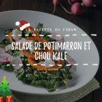 Salade de potimarron et chou kale FB