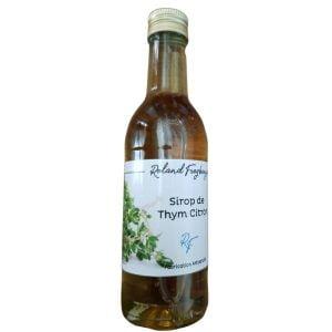 Sirop thym citron - Roland Freyburger