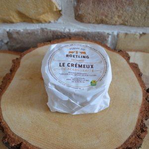 Fromage crémeux emballé - Ferme du Roetling