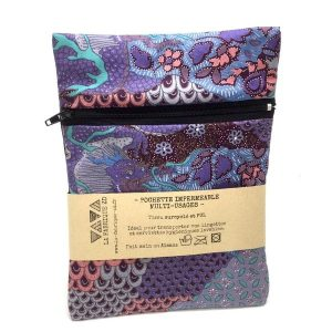 Pochette imperméable violette - La Fabrique ZD