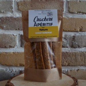 Crackers apéritif nature - Toqué du Biscuit