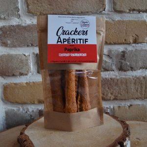 Crackers apéritif paprika - Toqué du Biscuit
