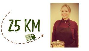 Nombre km + photo - Biny'S Biscuits