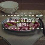 Miniature recette - Salade de betteraves et pommes