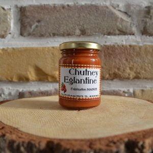 Chutney d'églantine - Sylvie et ses fruits