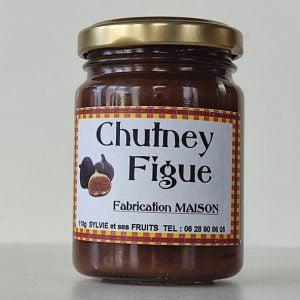 Chutney de figues - Sylvie et ses fruits