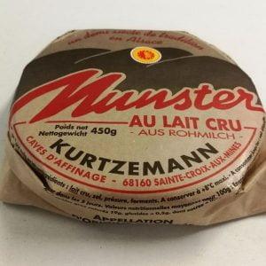 Munster au lait cru 400 g - Affinage et saveurs locales