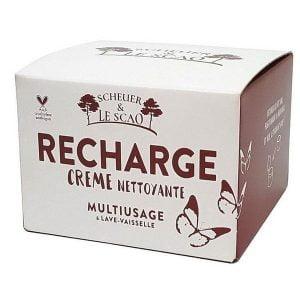 Recharge crème nettoyante - Scheur & Le scao