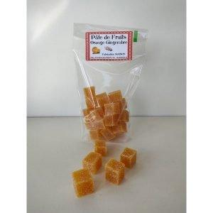 Pâtes de fruits orange et gingembre