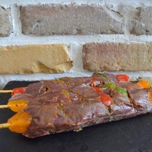 Brochette biche à la provençale - Nemrod