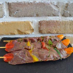 Brochette sanglier ail et fines herbes - Nemrod