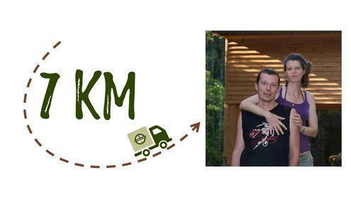 Km + photo - Le jardinier-maraicher du Florival
