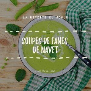 Miniature recette - Soupe de fanes de navet