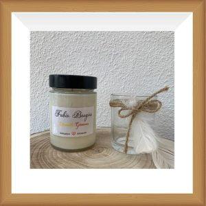 Bougie citronnelle géranium - Fabio bougie