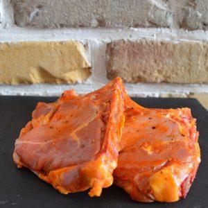 Côtelettes de porc marinées tex mex - Elevage des 3P