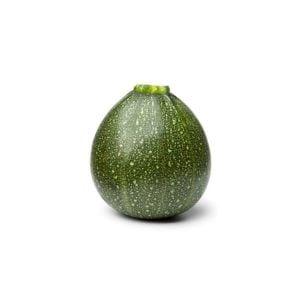 Courgette verte ronde - Au poids