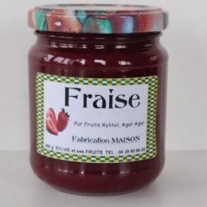 Confiture de fraise pour diabétique - Sylvie et ses fruits