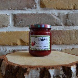 Confiture fraise diabétique - Sylve et ses fruits