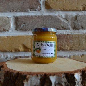 Confiture mirabelle sans sucre ajouté - Sylvie et ses fruits
